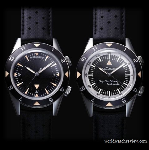 Jaeger-LeCoultre Memovox Tribute to Deep Sea Automatic Alarm Diving Watch