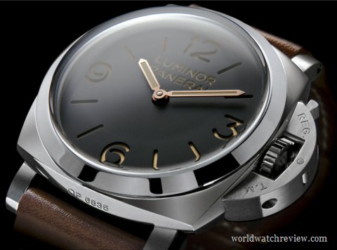 Panerai Luminor 1950 3 Days hand-wound watch (PAM 372)