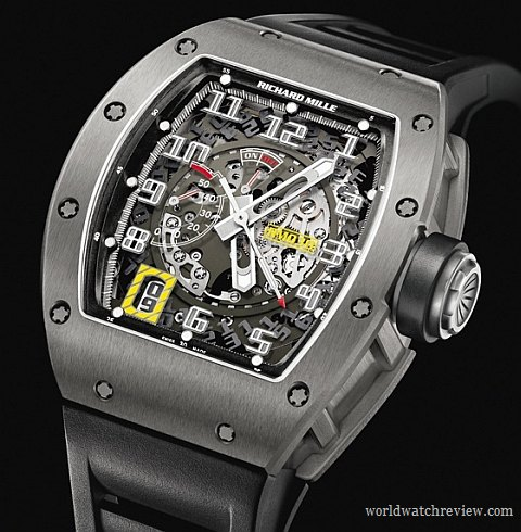 Richard Mille RM 030 Automatic Watch with Declutchable Rotor (in Titanium)