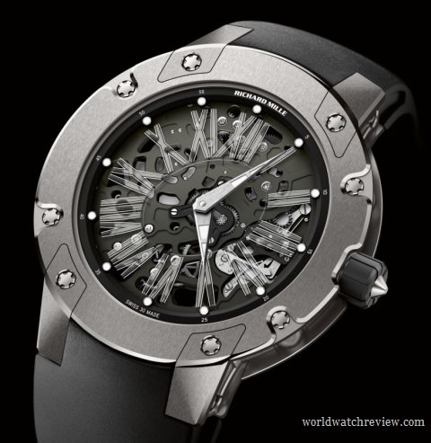 Richard Mille RM 033 Extra Flat Automatic Watch in Titanium