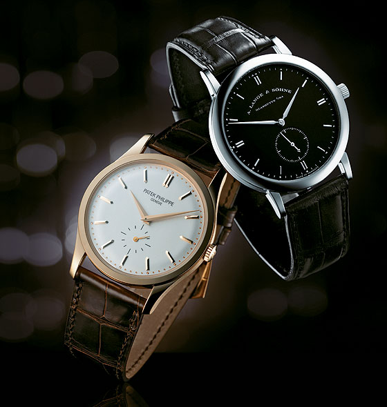 8ee7e226693 The Simple Style Fake Patek Philippe Calatrava   A. Lange   Söhne Saxonia  Copy Watches - High Quality Replica Watches For Men