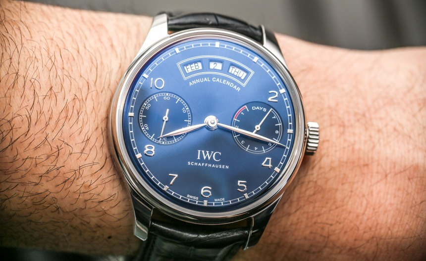Wrists On Replica IWC Portugieser Annual Calendar Watch