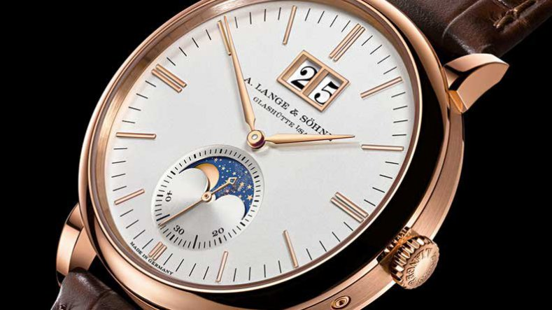 A. Lange & Söhne Saxonia Moon Phase Replica Watch Unveiled At The SIHH Ref.384.026