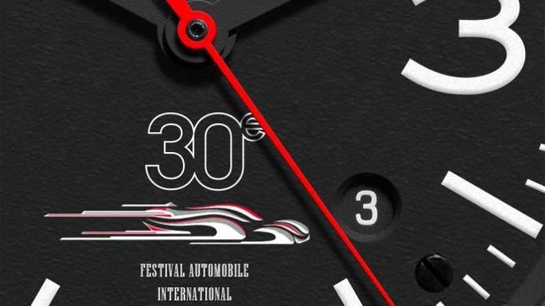 Bell & Ross BR 03 to Celerbrate The 30th Festival Automobile International Show