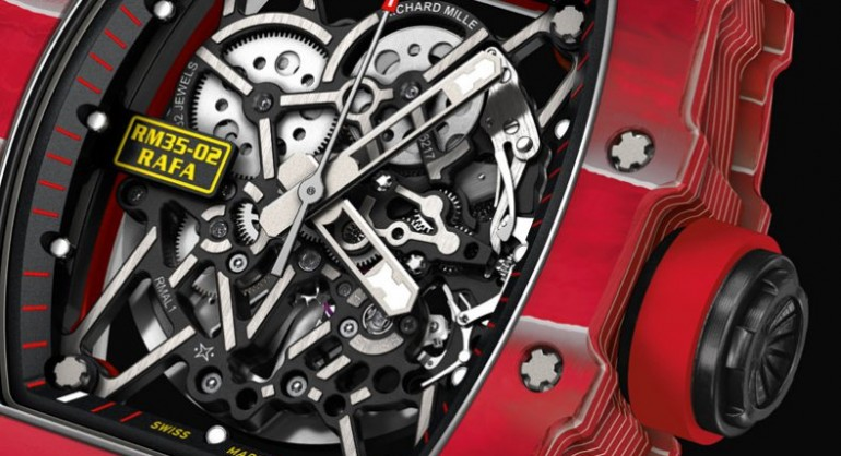 The latest Richard Mille Rafael Nadal RM 35-02 Red Replica Watch