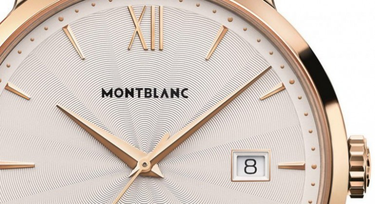 Top Quality Rose Gold Montblanc Meisterstück Heritage Date Automatic Replica Watch