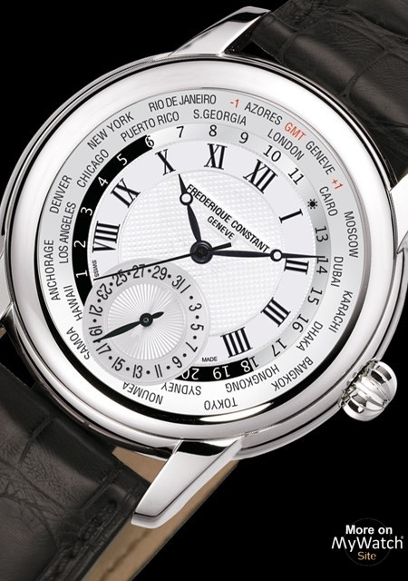 Frederique Constant Classics Manufacture Worldtimer Watch Replica