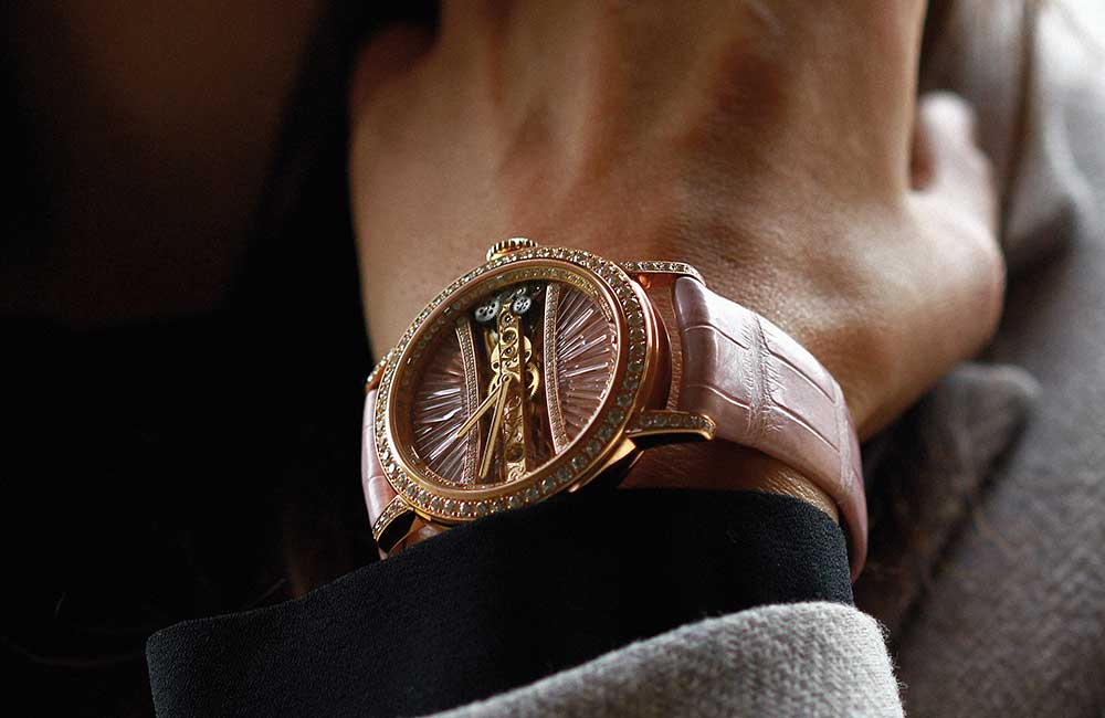 Corum Lady Golden Bridge watch replica