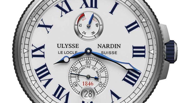 Ulysse Nardin Marine Chronometer Manufacture watch replica