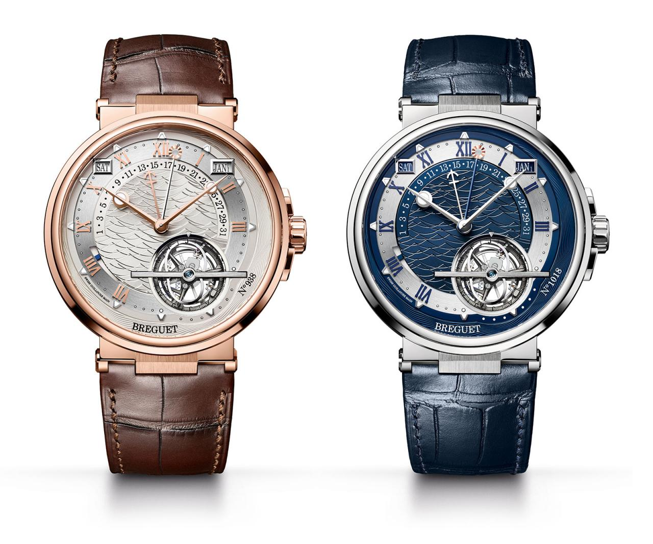 Breguet Équation Marchante 5887 rose gold and platinum