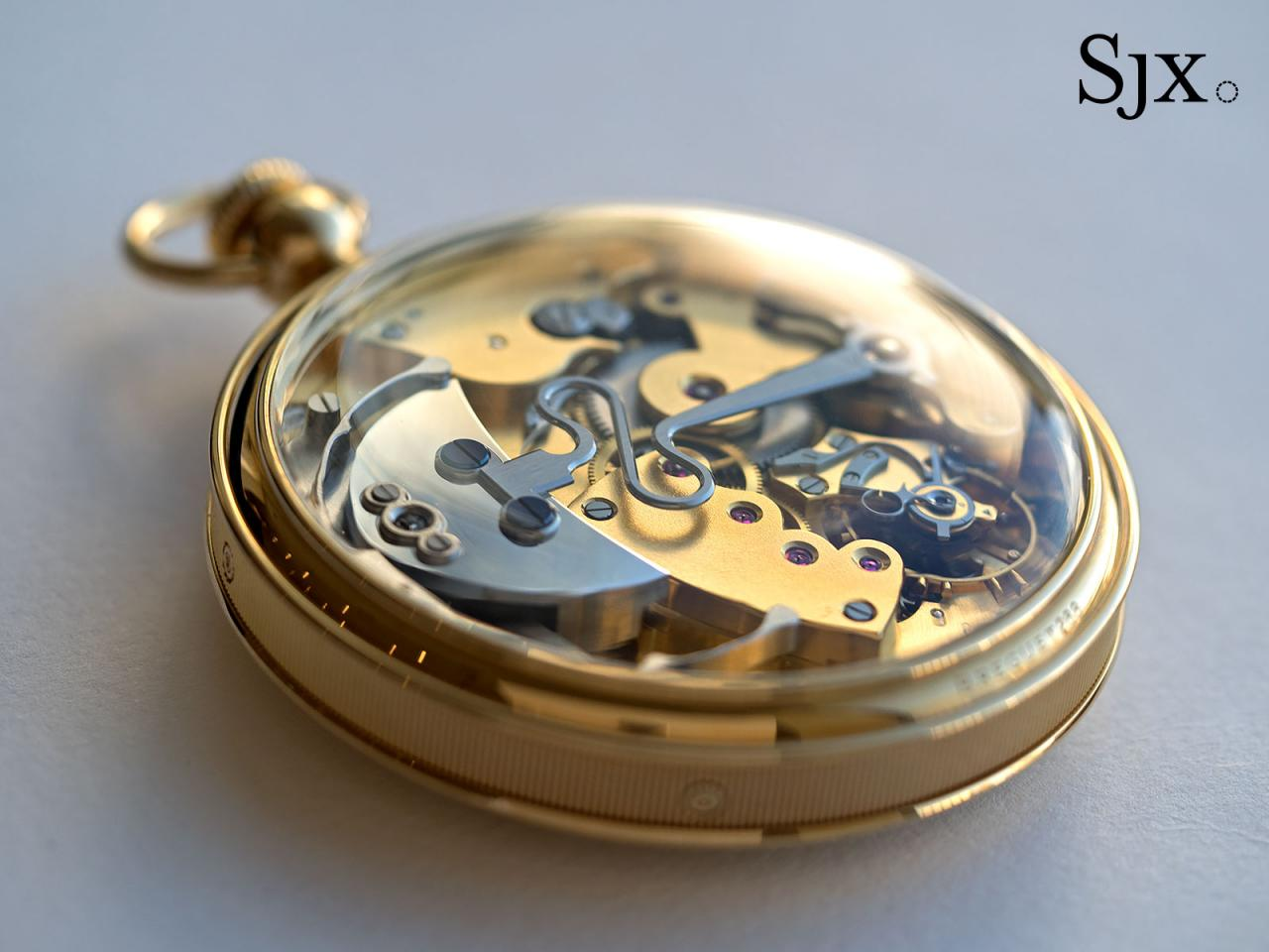 Breguet Souscription set pocket watch 11