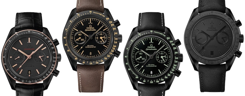 Highlights of the 2015 Replica Omega Dark Side of the Moon Models