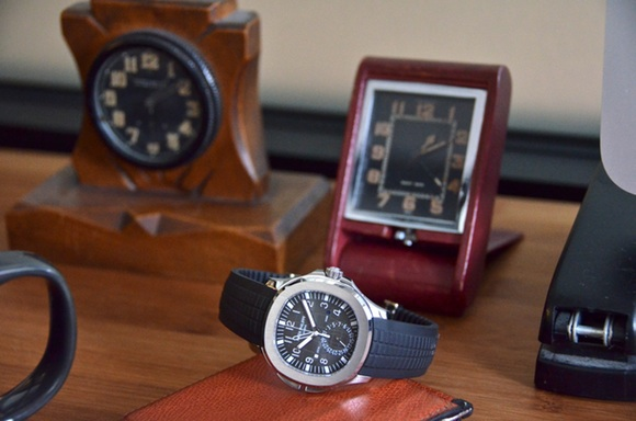 Replica Patek Philippe Aquanaut Travel Time