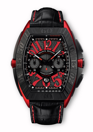 Powerful Franck Muller Conquistador Grand Prix Copy Watch with Chronograph