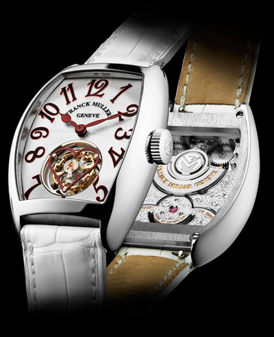Grand Complications Franck Muller Giga Tourbillon Ladies Watch Replica 8889 T G