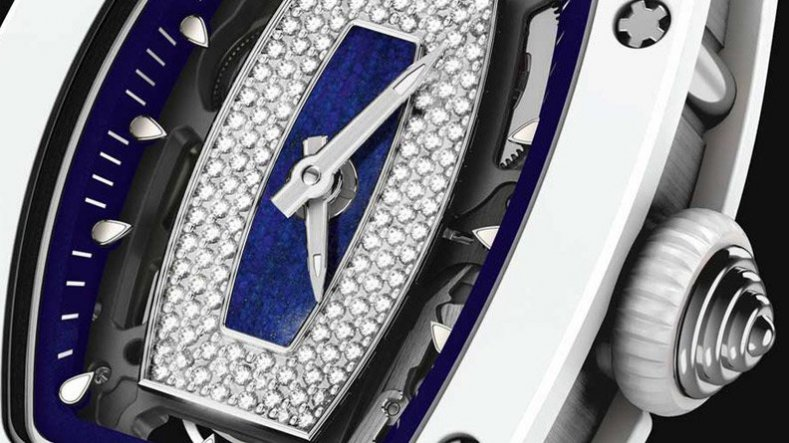 White Diamonds Richard Mille RM 07-01 Ladies Polo Club de Saint-Tropez Copy Watch