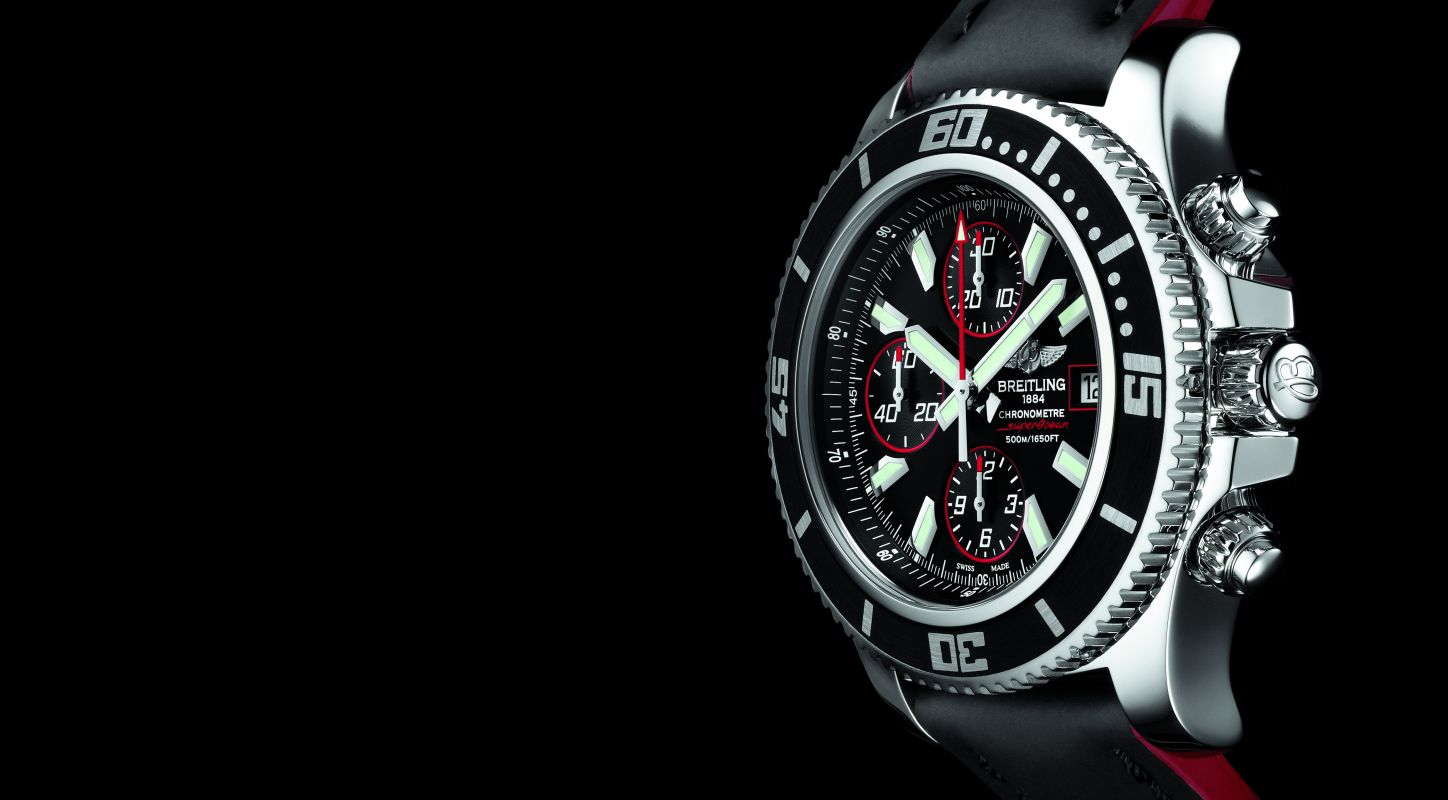 A Sporty Handsome Breitling SuperOcean Chronograph II Replica Watch