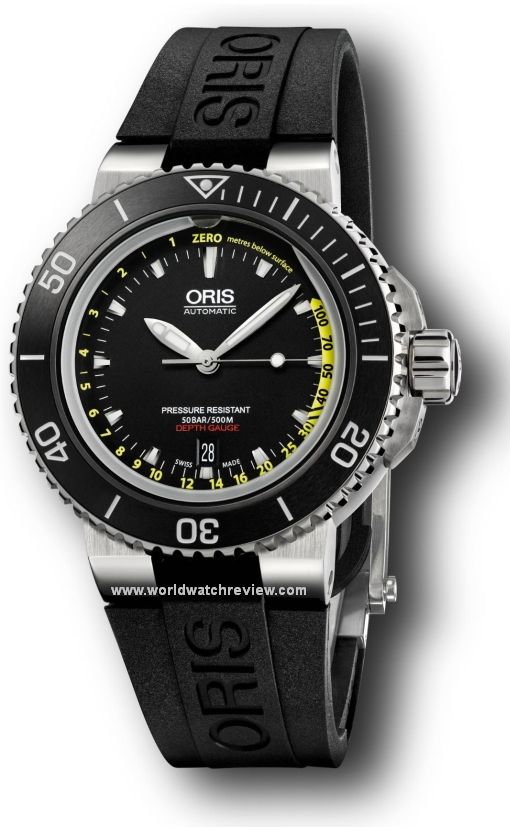 Swiss Made Mens Replica Oris Aquis Depth Gauge Diver Automatic Watch