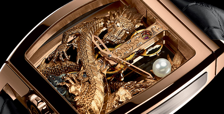 Corum Golden Bridge Dragon replica