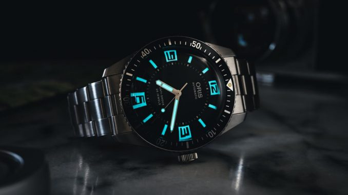 Oris x Topper Jewelers Limited Edition Divers Sixty-Five replica Watch