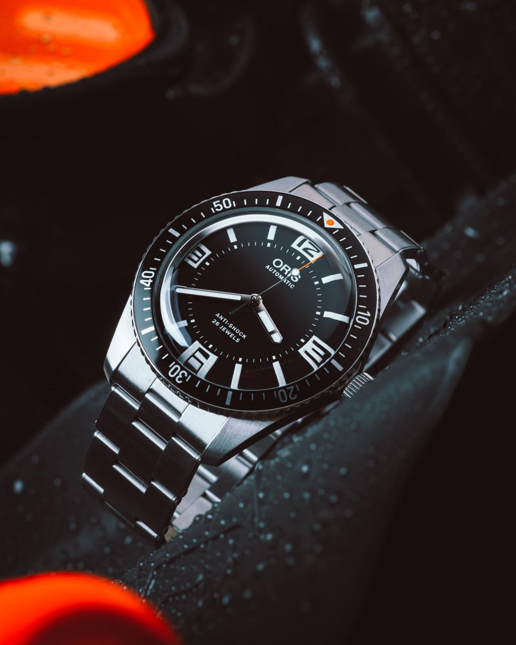 Oris x Topper Jewelers Limited Edition Divers Sixty-Five fake Watch
