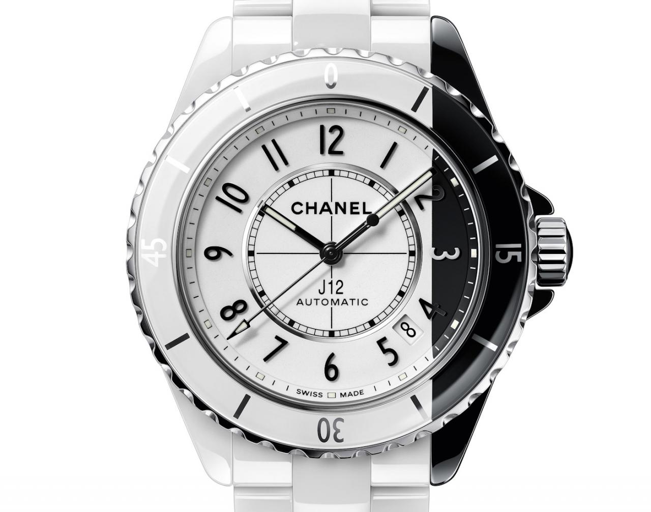 CChanel Debuts The World's First Fully Two-Tone Ceramic Watch With The J12 Paradoxe fake Watches